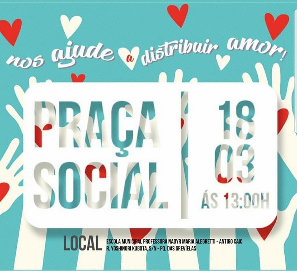 Hoftalmar participa do projeto Praça Social
